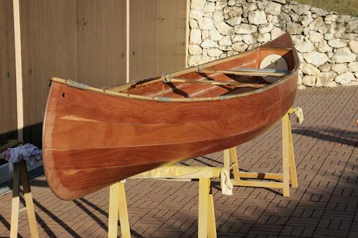 Costruzione di una canoa in compensato cecchi dalla for Come finanziare la costruzione di una nuova casa